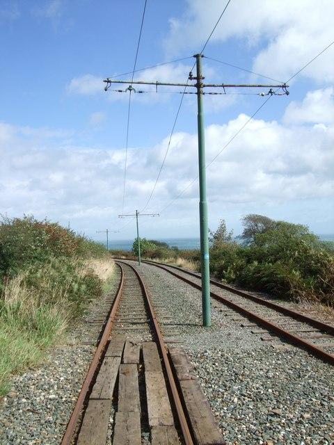Manx Electric Railway near Ballafayle-e-Callow (2)