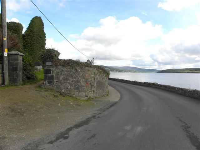 Road at Rathmullan