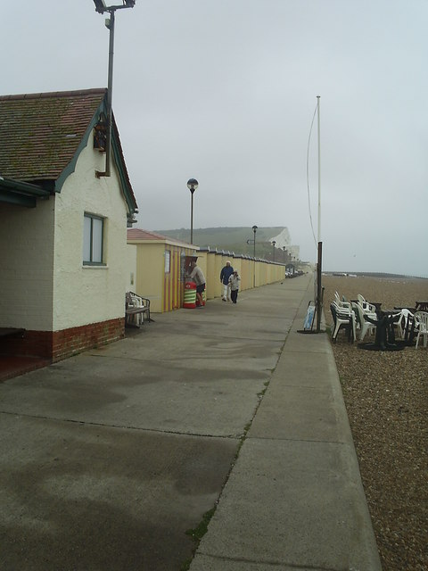 Seafront east from the public toilets