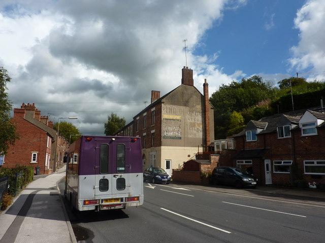 On Station Road, Ashbourne