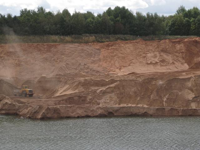 Digging a sandpit