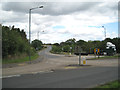 SP2382 : Road junction west of Meriden  by Robin Stott