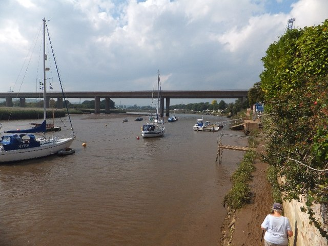 The M5 bridge over the River Exe