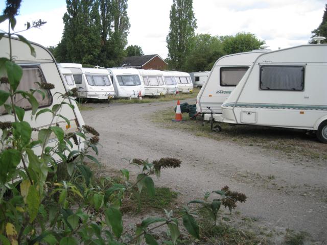 Caravan storage, Birmingham Road