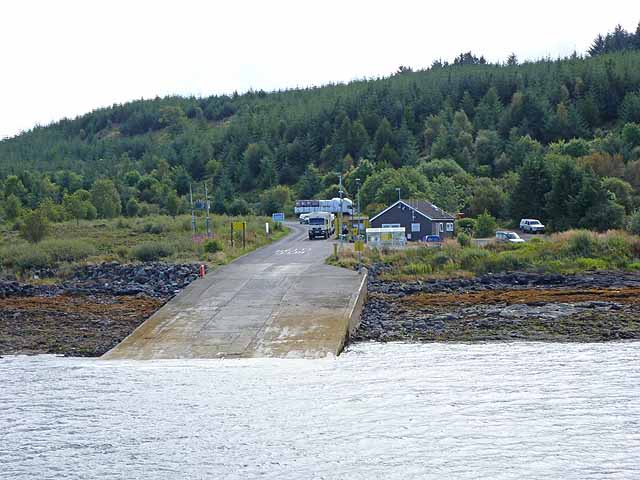 Fishnish Ferry Slipway