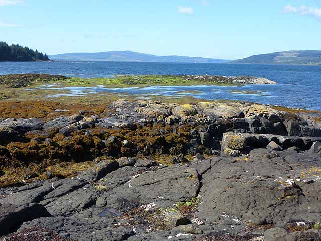 Looking north-west up the Sound of Mull