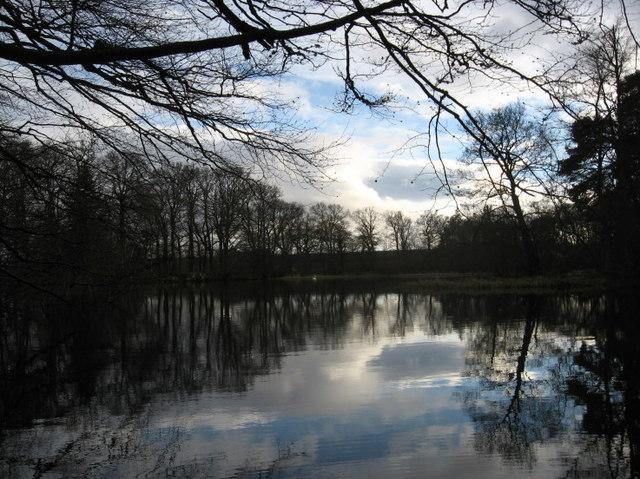 Clyan's dam - Reflections