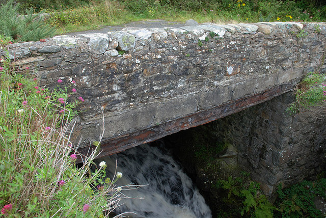 Old road bridge