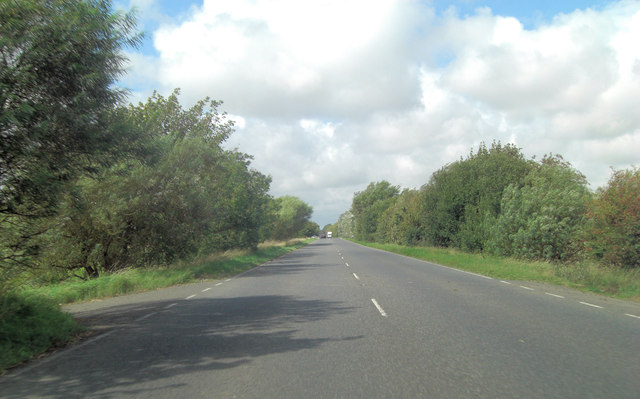 A259 heads towards Old Romney