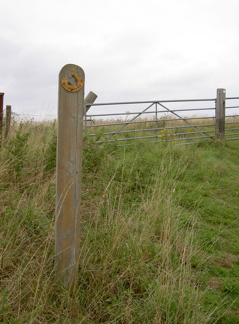 Bridleway over the landfill