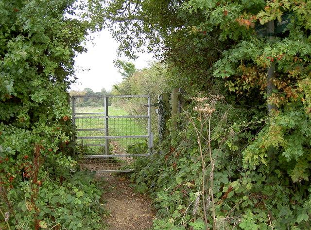 Footpath gate