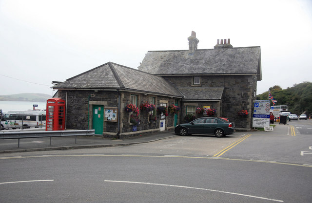 Padstow Railway station Station house and buildings