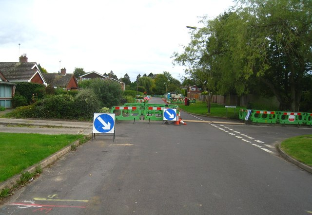 Road works - Kennet Way