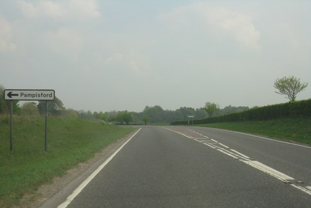 A505 - Pampisford turning