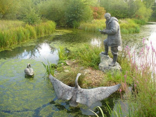 Sir Peter Scott, London Wetland Centre
