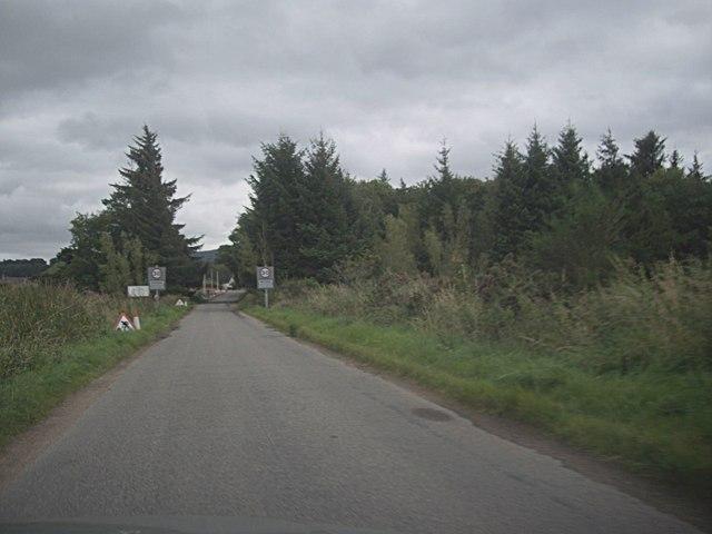 Approach to Bridge of Easaiche, Rhynie