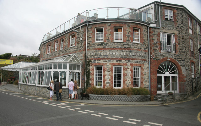 The Seafood Restaurant owned by Rick Stein