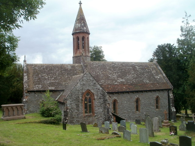 Grade II listed Llansantffraed Church
