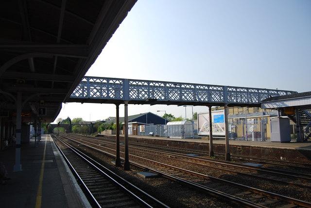 Footbridge, Paddock Wood Station