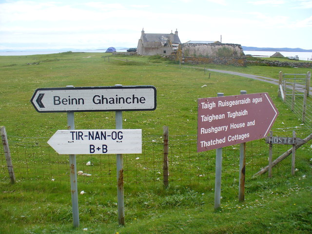 Road Signs on Berneray