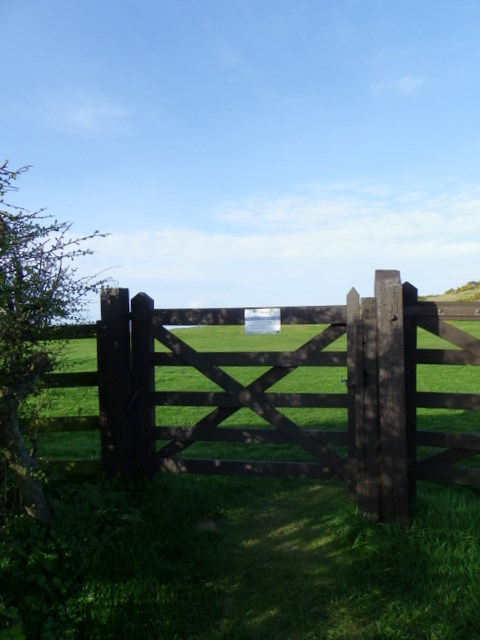 Gate near Budle