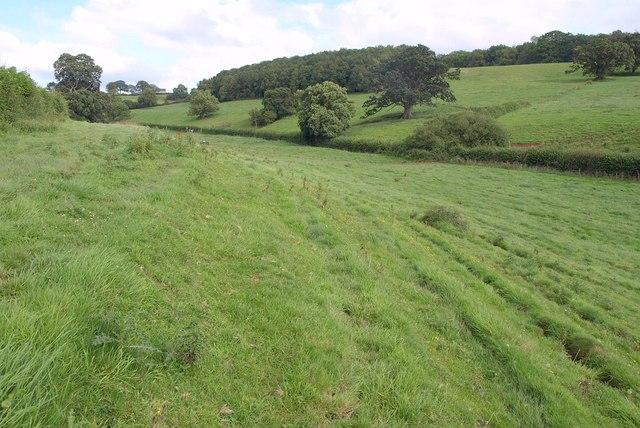 Dry valley near South Horrington