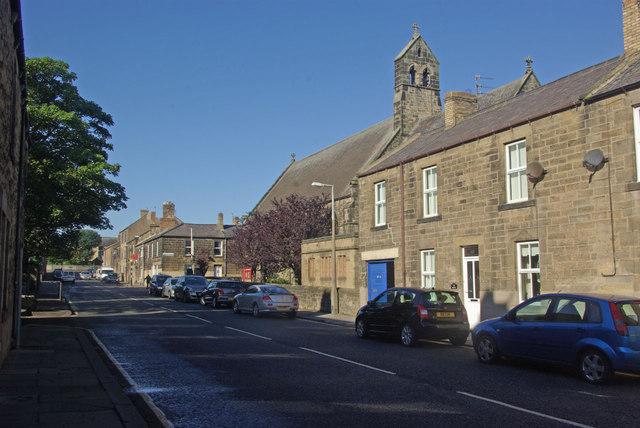 Church Street, Amble