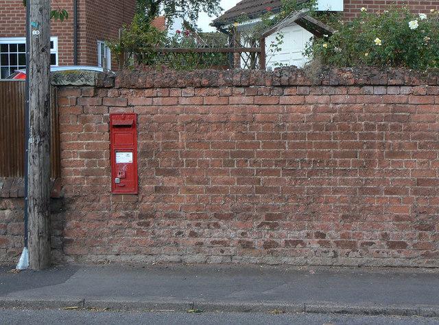 Main Street, Cropwell Butler postbox ref NG12 30