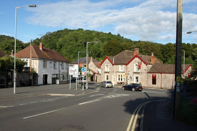 Junction of Tweentown and Cliff Street, Cheddar