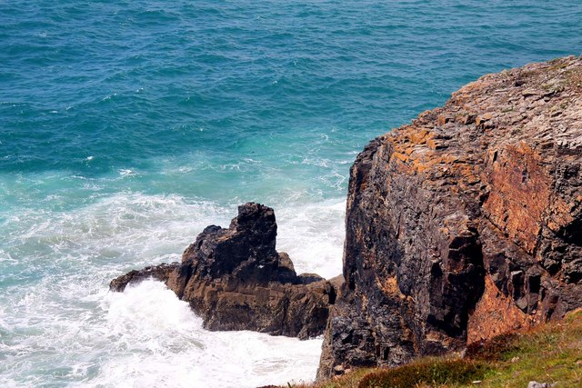 Shag Rock near Perranporth
