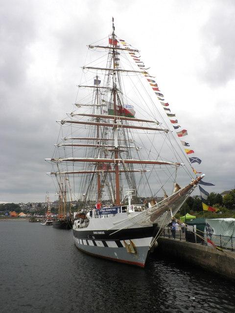 'Stavros S Niarchos' at Barry docks