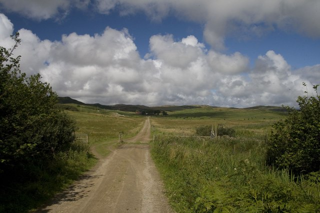 Track to Balole Farm, Islay