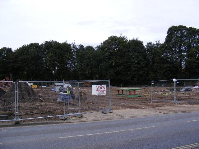 Building site in Church Street Saxmundham