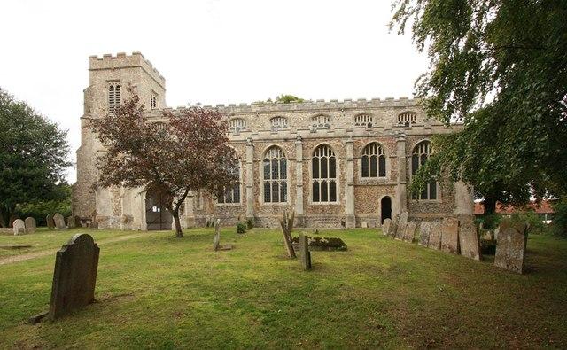 St Nicholas, Denston