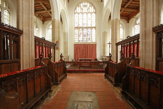 St Nicholas, Denston - Chancel