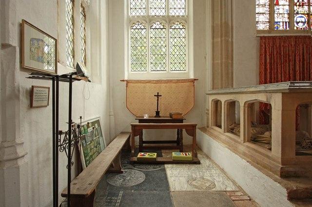 St Nicholas, Denston - North chapel