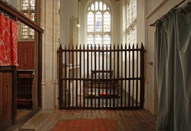 St Nicholas, Denston - South chapel