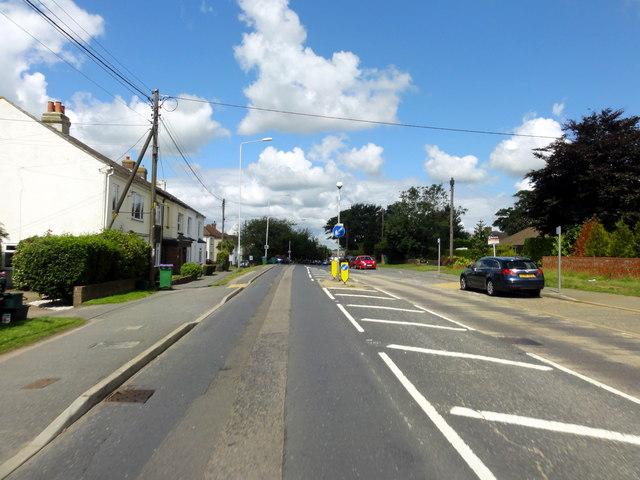 Hawkinge, Canterbury Road