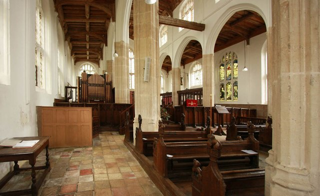 St Nicholas, Denston - North aisle
