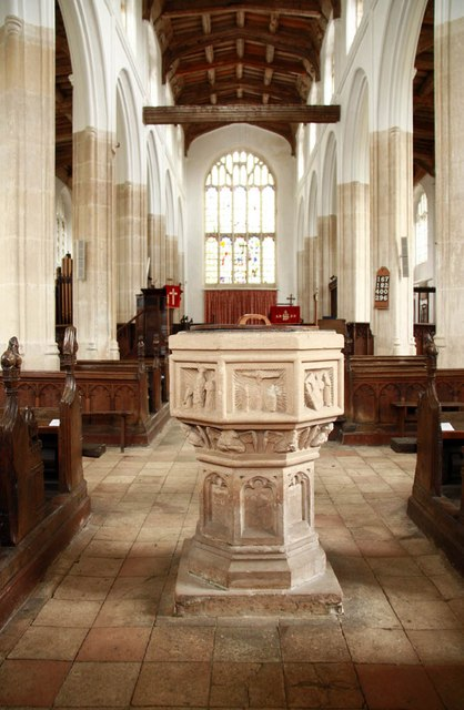 St Nicholas, Denston - East end