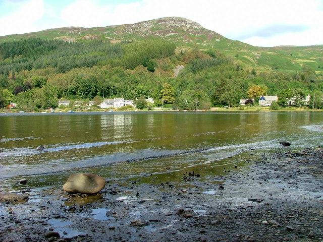 South shore on Loch Earn