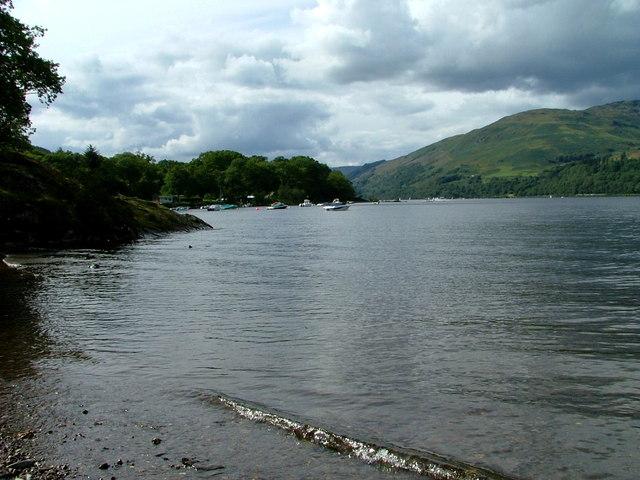 Small bay on Loch Earn