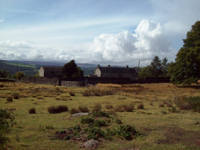 Overlooking Wharncliffe Lodge from the Chase