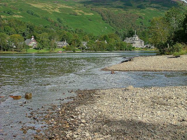 Inlet on Loch Earn