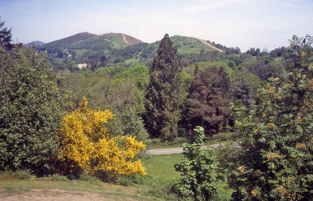 The Malvern Hills from Wynds Point
