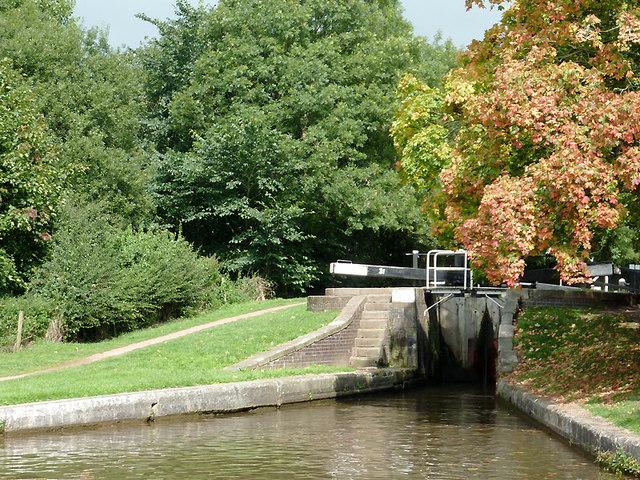 Meaford Bottom Lock, Staffordshire