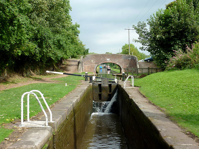 Meaford House Lock No 32, Staffordshire