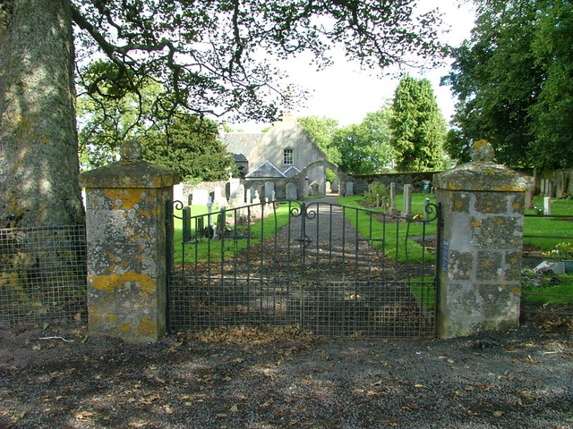 Tibbermore Church and graveyard