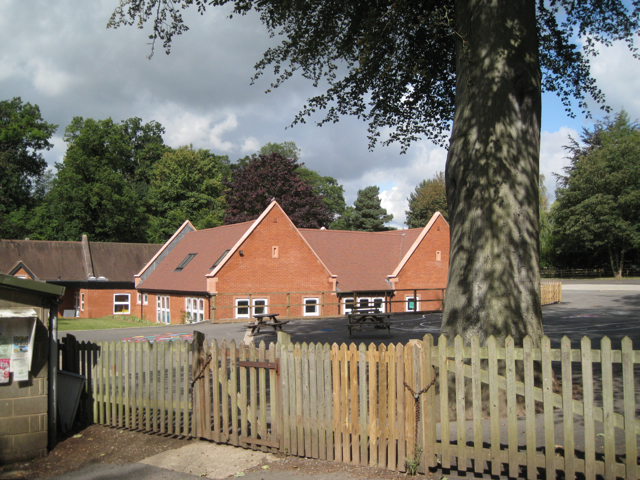 Berkswell C of E Primary School and playground