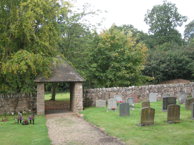 Lych gate, Berkswell churchyard 